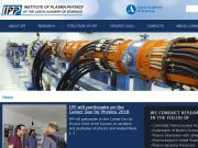 SITO WEB Ustav fyziky plazmatu AV CR, v.v.i.