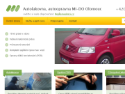 SITO WEB Autolakovna, autoopravna MI-DO Pavel Michal