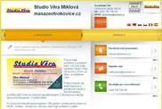 WEBOV� STR�NKA Studio V�ra Miklov� masazeotrokovice.cz