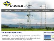 WEBOVÁ STRÁNKA ELEKTROTRANS a.s.