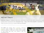 WEBOVÁ STRÁNKA AGROCORP s.r.o. Ranč - Ekofarma Žlutava