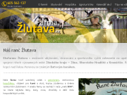 SITO WEB AGROCORP s.r.o. Ranc - Ekofarma Zlutava