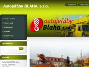 WEBOVÁ STRÁNKA AUTOJEŘÁBY BLAHA s.r.o.