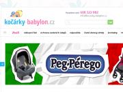 WEBOVÁ STRÁNKA DĚTSKÝ RÁJ kočárky-babylon.cz
