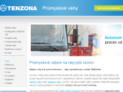 WEBOVÁ STRÁNKA TENZONA s.r.o.