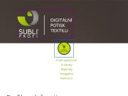 WEBOVÁ STRÁNKA SubliProfi, s.r.o.