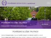 WEBOVÁ STRÁNKA POHŘEBNÍ ÚSTAV S.R.G. společnost
