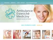 WEBOVÁ STRÁNKA Ambulance estetické medicíny