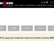 WEBOVÁ STRÁNKA MEKR�S, s.r.o.