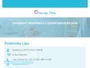 WEBOVÁ STRÁNKA THERAP-TILIA   spol. s r.o. Rehabilitační klinika Praha