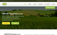 WEBOVÁ STRÁNKA HAIVA Tasovice s.r.o.