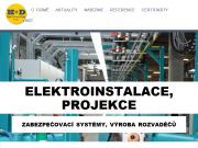 WEBOVÁ STRÁNKA H+D Elektromontáže s.r.o.
