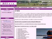 WEBOVÁ STRÁNKA BES s.r.o. Výstavba komunikací a silnic Benešov