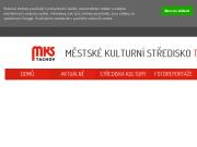 WEBSITE Mestske kulturni stredisko Tachov MKS Tachov
