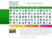 WEBOVÁ STRÁNKA BOTTLING PRINTING s.r.o. Tisk a aplikace etiket a štítků Morava