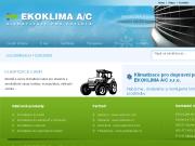 WEBOVÁ STRÁNKA EKOKLIMA A/C s.r.o.