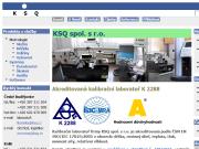 SITO WEB KSQ spol. s r.o. Metrologie Ceske Budejovice