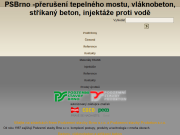 WEBOVÁ STRÁNKA Podzemní stavby Brno, s.r.o.