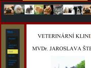 WEBOVÁ STRÁNKA MVDr.Jaroslav Štekl - veterinární klinika