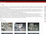 SITO WEB Zdenek Hrabacek - Czech Technologies