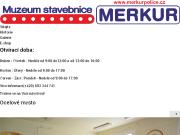 WEBOVÁ STRÁNKA MERKUR POLICE o.p.s. Muezum stavebnice MERKUR