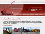 WEBOVÁ STRÁNKA Autojeřáby a plošiny Brno Velčovský