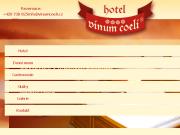 WEBOVÁ STRÁNKA Hotel Vinum Coeli VINUM COELI, s.r.o.