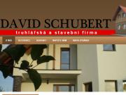 Strona (witryna) internetowa David Schubert - truhlarska a stavebni firma