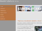 WEBSEITE Stavebni vytahy.cz s.r.o.