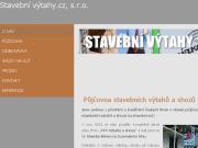 WEBOVÁ STRÁNKA Stavební výtahy.cz s.r.o.