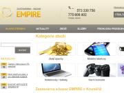 WEBOVÁ STRÁNKA Zastavárna a Bazar Kroměříž