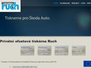 WEBOVÁ STRÁNKA Tiskárna Ruch s.r.o.