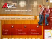 WEBOVÁ STRÁNKA A-SPORT Zábavní centrum