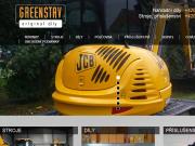SITO WEB GREENSTAV - NAHRADNI DILY s.r.o.