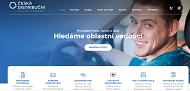 WEBOVÁ STRÁNKA Česká distribuční a.s.