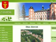 WEBOVÁ STRÁNKA Obecn� ��ad Z�mrsk