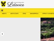 WEBOVÁ STRÁNKA Město Letovice MÚ