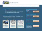 WEBOVÁ STRÁNKA Stavební geologie -IGHG, spol. s r.o. Inženýrsko-geologický průzkum Praha