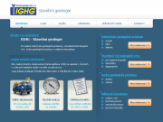 SITO WEB Stavebni geologie -IGHG, spol. s r.o. Inzenyrsko-geologicky pruzkum Praha