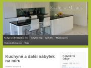 WEBOVÁ STRÁNKA Tomáš Matouš Kuchyně a nábytek na míru