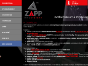 WEBOVÁ STRÁNKA Zapp Infosystémy s.r.o.