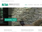 SITO WEB Daha Nehvizdy, s.r.o. Kamenicka vyroba Praha