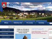 SITO WEB Mesto Kdyne