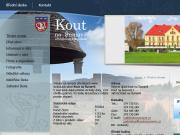 WEBOVÁ STRÁNKA Obec Kout na Šumavě Obecní úřad Kout na Šumavě