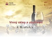 WEBOVÁ STRÁNKA Vinný sklep a ubytování U Bystřických