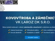 WEBOVÁ STRÁNKA VK LAROZ DK s.r.o.
