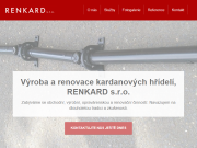 WEBOVÁ STRÁNKA RENKARD s.r.o.
