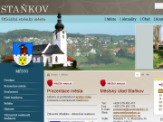 WEBOVÁ STRÁNKA Město Staňkov Městský úřad Staňkov