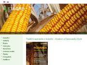 Strona (witryna) internetowa VP AGRO, spol. s r.o. Vyroba a prodej osiv
