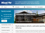 WEBOVÁ STRÁNKA Hizol, s.r.o.